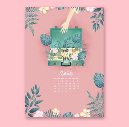 les calendriers les filles à