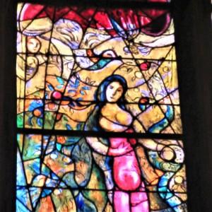 Vitrail Chagall Metz détail
